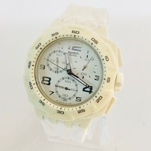 Swatch Mister Pure Men's Chronograph Date Watch